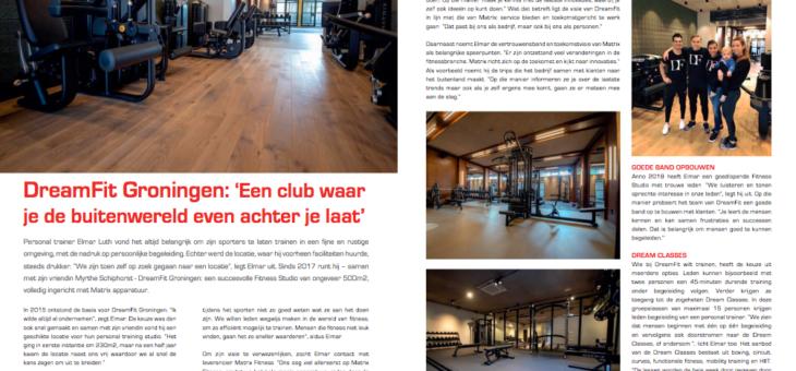 DreamFit Groningen: 'een club waar je de buitenwereld even achter je laat'
